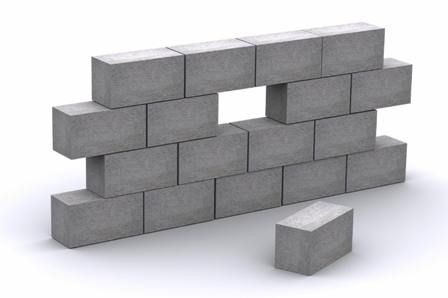 How to store concrete blocks on site civilblog org for Concrete foam block construction