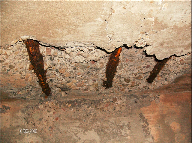 HOW TO REPAIR CORRODED RC CEILING PLASTER OF A BUILDING ...